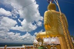 Derrière Bouddha Image libre de droits