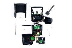 Derribe del flash para la reparación (accesorio de la cámara Imágenes de archivo libres de regalías