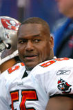 Derrick Brooks royaltyfri foto