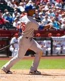 Derrick Lee, Chicago Cubs fotos de stock royalty free