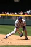 Derrick Lee, jarro dos Chicago Cubs foto de stock royalty free
