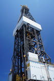 Derrick of Offshore Jack Up Drilling Rig Royalty Free Stock Photography
