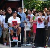 Derrick Rose Milan Tour 2013 imagens de stock