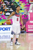 Derrick Rose of USA Royalty Free Stock Image