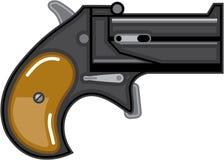 Derringer gun Vector Stock Photo