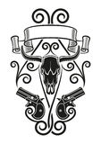 derringer Tattoo Stock Photography