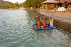 Derrota del calor en las islas de barlovento fotografía de archivo libre de regalías