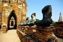 Derrumbamiento Buddha Fotos de archivo