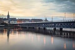 Derry Bridge idoso Imagem de Stock Royalty Free