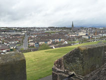 Derry/Londonderry City from the ancient walls Stock Photography