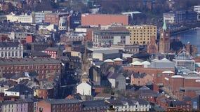 Derry - Londonderry som är nordliga - Irland Arkivfoto