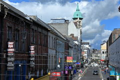 Derry in Northern Ireland Stock Image