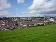 Derry, Northern Ireland. Derry city view on a sunny day royalty free stock photo