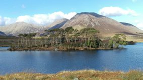 Derryclare lake Royalty Free Stock Image
