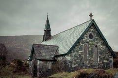 Derrycunihy Church. Kerry Peninsula. Ireland Stock Photo