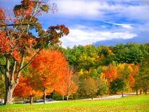 Derryfield park w Machester, NH zdjęcia stock