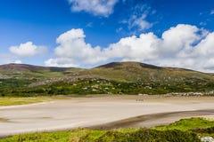 Derrynane fjärd, cirkel av Kerry, Irland Royaltyfri Fotografi