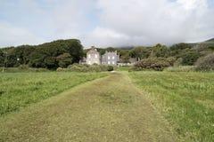 Derrynane-Haus irland stockfotos