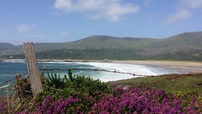 Derrynane strand Co kerry Royaltyfria Bilder
