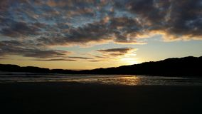 Derrynane strand Co kerry Arkivbild