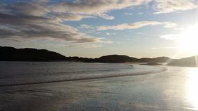 Derrynane strand Co kerry Royaltyfri Bild