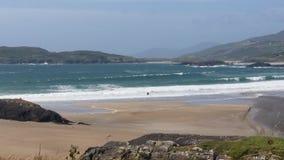Derrynane strand Co kerry Arkivbilder