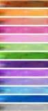 Dertien banners Royalty-vrije Stock Fotografie