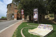 Deruta, Perugia, Umbrië, Italië, Europa Stock Foto