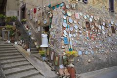 Deruta, Perugia, Umbria, Italia, Europa Fotografia Stock Libera da Diritti