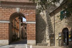 Deruta perugia, umbria, Italien, Europa royaltyfria foton