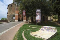 Deruta perugia, umbria, Italien, Europa arkivfoto