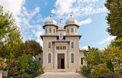Dervent Monastery, Romania. Dervent Monastery is located in Island City, in southeastern Romania. It is famous for its springs of living water and the miraculous Stock Image