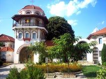 Dervent Monastery Entrance. Romania stock image