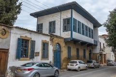 Dervis巴夏豪宅,尼科西亚,塞浦路斯 免版税图库摄影