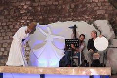 Dervish dance show. Turkey Stock Photography