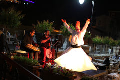 Dervish dance show. Turkey Stock Image