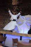 Dervish dance show. Turkey Royalty Free Stock Photo