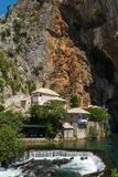 Dervish house in Blagaj Buna Royalty Free Stock Photography