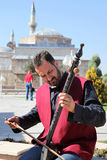 Dervish musician in Konya, Turkey. Religious capitol of turkey Royalty Free Stock Photo