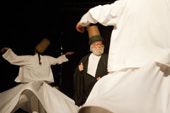 Dervishes girantesi Immagine Stock