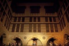 DERVISHES GIRANTESI DI SUFI, CAIRO, EGITTO Fotografia Stock
