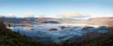 Derwent валит, район озера, Великобритания Стоковые Фото