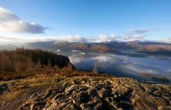 Derwent abat, le secteur de lac, R-U images libres de droits