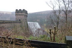 Derwent dam Royalty Free Stock Image
