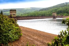 Derwent Dam. Royalty Free Stock Photos
