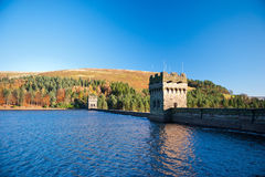 Derwent Dam and Reservoir Royalty Free Stock Photo