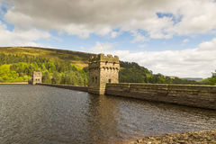 Derwent Dam Royalty Free Stock Photography
