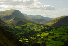 Derwent Fells. Looking to the Derewnt Fells Stock Photography