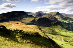 The Derwent Fells Royalty Free Stock Photography