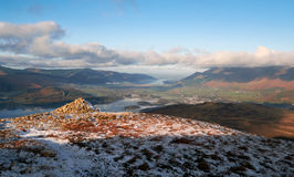 Derwent Fells, Lake District, Uk Royalty Free Stock Photography